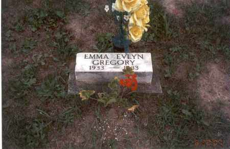 GREGORY, EMMA EVLYN - Vinton County, Ohio | EMMA EVLYN GREGORY - Ohio Gravestone Photos