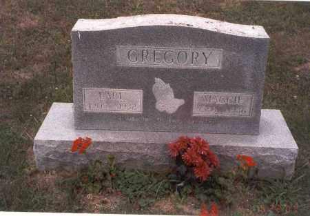 GREGORY, EARL - Vinton County, Ohio | EARL GREGORY - Ohio Gravestone Photos