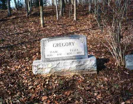 GREGORY, ISAAC - Vinton County, Ohio | ISAAC GREGORY - Ohio Gravestone Photos