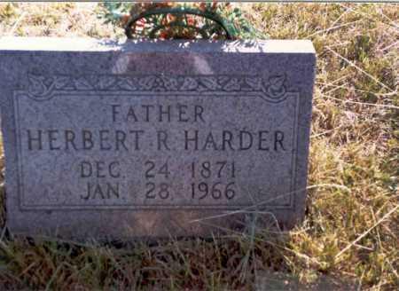 HARDER, HERBERT - Vinton County, Ohio | HERBERT HARDER - Ohio Gravestone Photos