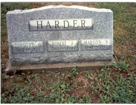 HARDER, MARILYN - Vinton County, Ohio | MARILYN HARDER - Ohio Gravestone Photos