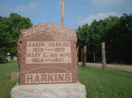 HARKINS, MARY E. - Vinton County, Ohio | MARY E. HARKINS - Ohio Gravestone Photos