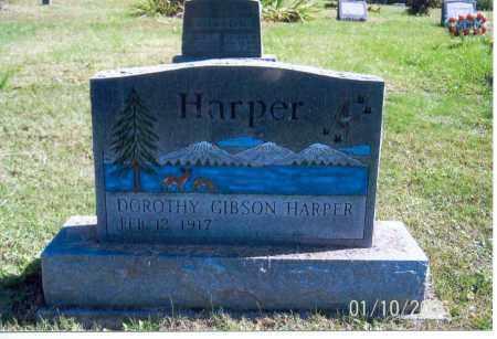 HARPER, DOROTHY - Vinton County, Ohio | DOROTHY HARPER - Ohio Gravestone Photos