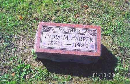HARPER, LYDIA M. - Vinton County, Ohio | LYDIA M. HARPER - Ohio Gravestone Photos