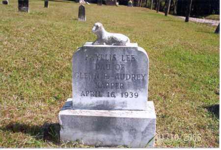 HARPER, PHYLLIS LEE - Vinton County, Ohio | PHYLLIS LEE HARPER - Ohio Gravestone Photos