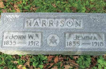 HARRISON, JOHN W. - Vinton County, Ohio   JOHN W. HARRISON - Ohio Gravestone Photos