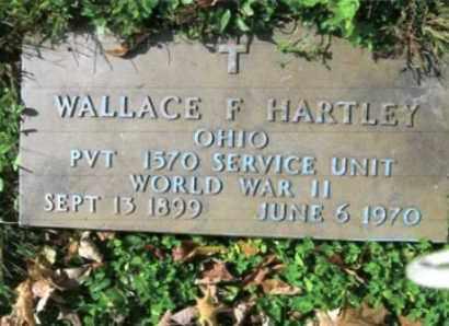 HARTLEY, WALLACE - Vinton County, Ohio   WALLACE HARTLEY - Ohio Gravestone Photos