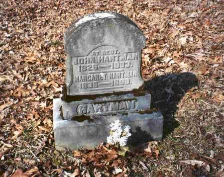 HARTMAN, JOHN - Vinton County, Ohio | JOHN HARTMAN - Ohio Gravestone Photos