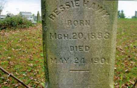 HAWK, BESSIE - Vinton County, Ohio | BESSIE HAWK - Ohio Gravestone Photos