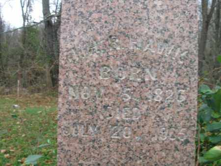HAWK, JONAH H. R. - Vinton County, Ohio | JONAH H. R. HAWK - Ohio Gravestone Photos