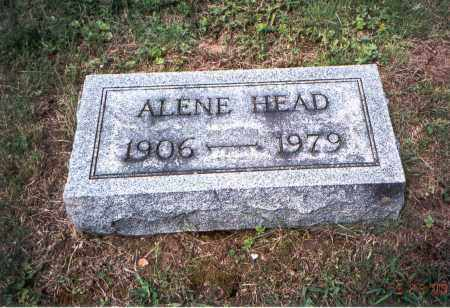HEAD, ALENE - Vinton County, Ohio | ALENE HEAD - Ohio Gravestone Photos