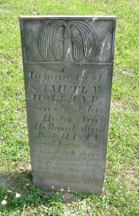 HOLLAND, SAMUEL W. - Vinton County, Ohio | SAMUEL W. HOLLAND - Ohio Gravestone Photos