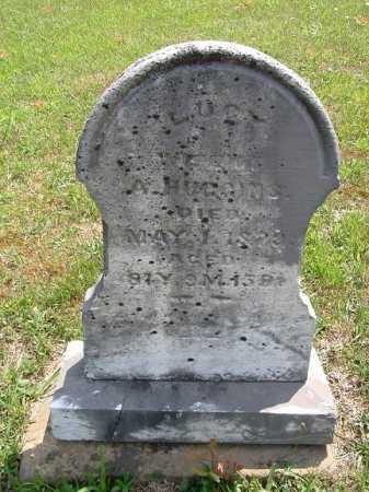 RIGGS HUGGINS, LUCY - Vinton County, Ohio | LUCY RIGGS HUGGINS - Ohio Gravestone Photos