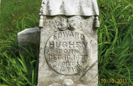 HUGHEY, EDWARD - Vinton County, Ohio | EDWARD HUGHEY - Ohio Gravestone Photos