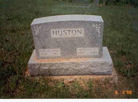 HUSTON, BERTHA L. - Vinton County, Ohio   BERTHA L. HUSTON - Ohio Gravestone Photos