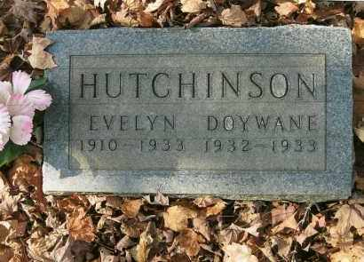 HUTCHINSON HUTCHINSON, EVELYN - Vinton County, Ohio | EVELYN HUTCHINSON HUTCHINSON - Ohio Gravestone Photos