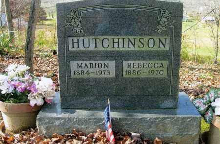 HUTCHINSON, REBECCA - Vinton County, Ohio | REBECCA HUTCHINSON - Ohio Gravestone Photos