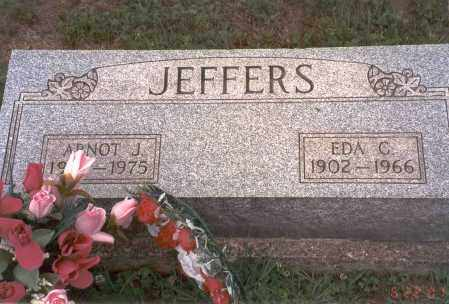 JEFFERS, EDA C. - Vinton County, Ohio | EDA C. JEFFERS - Ohio Gravestone Photos