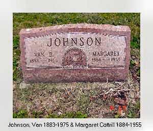COTTRILL JOHNSON, MARGARET - Vinton County, Ohio | MARGARET COTTRILL JOHNSON - Ohio Gravestone Photos