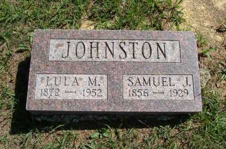 JOHNSTON, SAMUEL J. - Vinton County, Ohio | SAMUEL J. JOHNSTON - Ohio Gravestone Photos