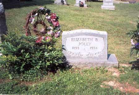 JOLLY, ELIZABETH - Vinton County, Ohio | ELIZABETH JOLLY - Ohio Gravestone Photos