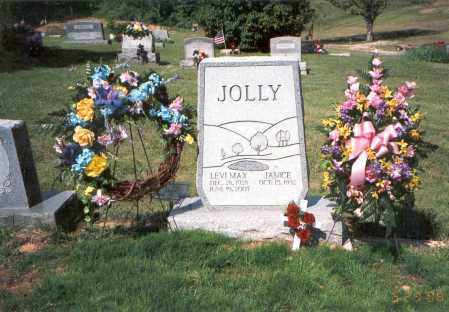 JOLLY, JANICE ROSETTA - Vinton County, Ohio | JANICE ROSETTA JOLLY - Ohio Gravestone Photos