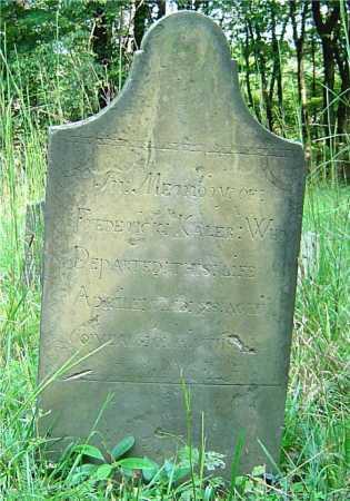 KALER, FREDERICK - Vinton County, Ohio   FREDERICK KALER - Ohio Gravestone Photos
