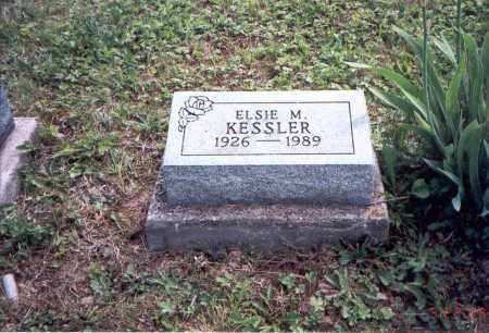 KESSLER, ELSIE M. - Vinton County, Ohio | ELSIE M. KESSLER - Ohio Gravestone Photos