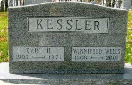 KESSLER, WINNIFRED - Vinton County, Ohio | WINNIFRED KESSLER - Ohio Gravestone Photos