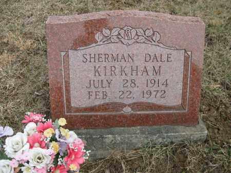 KIRKHAM, SHERMAN DALE - Vinton County, Ohio | SHERMAN DALE KIRKHAM - Ohio Gravestone Photos