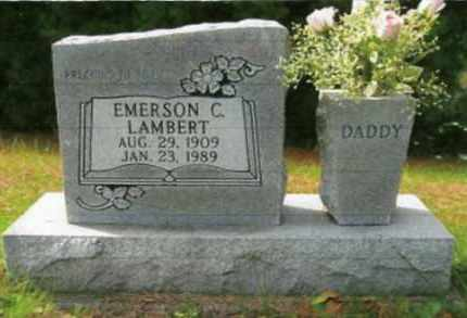 LAMBERT, EMERSON CLAY - Vinton County, Ohio | EMERSON CLAY LAMBERT - Ohio Gravestone Photos