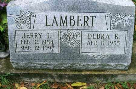 LAMBERT, JERRY L. - Vinton County, Ohio | JERRY L. LAMBERT - Ohio Gravestone Photos