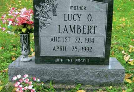 LAMBERT, LUCY O. - Vinton County, Ohio | LUCY O. LAMBERT - Ohio Gravestone Photos