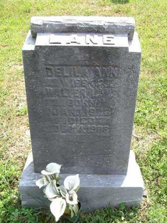 LANE, DELILA ANN - Vinton County, Ohio   DELILA ANN LANE - Ohio Gravestone Photos