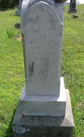 LANE, MARGARET - Vinton County, Ohio | MARGARET LANE - Ohio Gravestone Photos