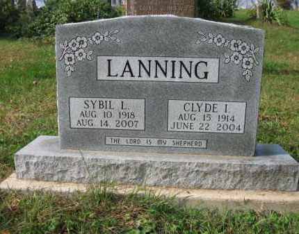 LANNING, SYBIL L. - Vinton County, Ohio | SYBIL L. LANNING - Ohio Gravestone Photos