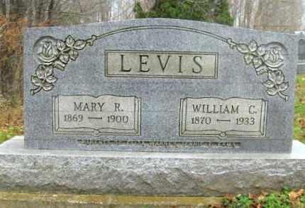 LEVIS, MARY R. - Vinton County, Ohio | MARY R. LEVIS - Ohio Gravestone Photos