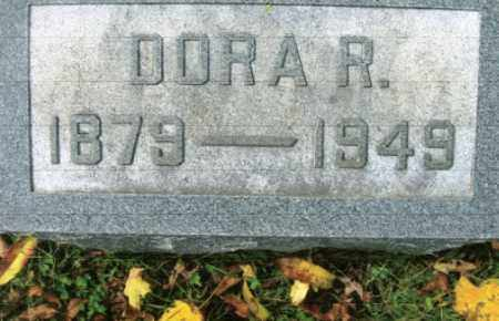 LONG, DORA R. - Vinton County, Ohio | DORA R. LONG - Ohio Gravestone Photos