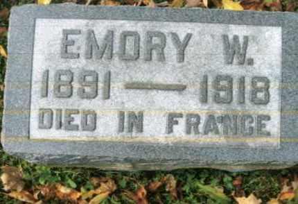 LONG, EMORY W. - Vinton County, Ohio | EMORY W. LONG - Ohio Gravestone Photos