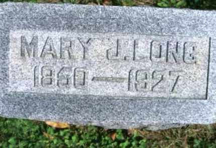 FITZPATRICK LONG, MARY J. - Vinton County, Ohio | MARY J. FITZPATRICK LONG - Ohio Gravestone Photos