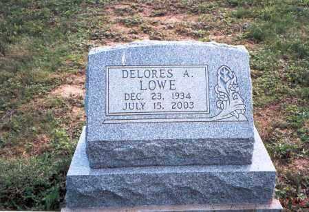 LOWE, DELORES A. - Vinton County, Ohio | DELORES A. LOWE - Ohio Gravestone Photos