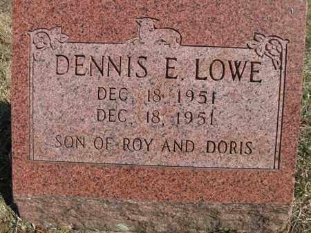 LOWE, DENNIS EARL - Vinton County, Ohio | DENNIS EARL LOWE - Ohio Gravestone Photos