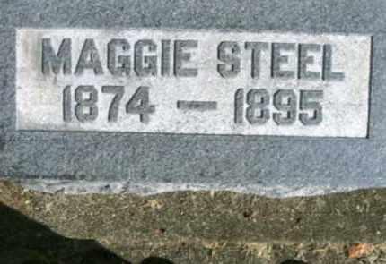 MAGGIE, STEEL - Vinton County, Ohio   STEEL MAGGIE - Ohio Gravestone Photos