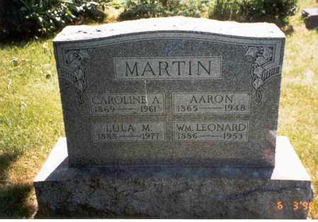 MARTIN MARTIN, CAROLINE A. - Vinton County, Ohio | CAROLINE A. MARTIN MARTIN - Ohio Gravestone Photos