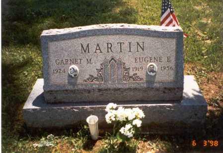 MARTIN, EUGENE E. - Vinton County, Ohio | EUGENE E. MARTIN - Ohio Gravestone Photos