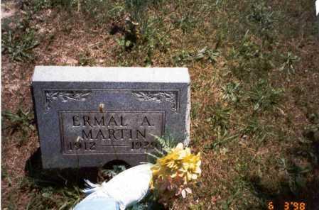 MARTIN, ERMAL A. - Vinton County, Ohio   ERMAL A. MARTIN - Ohio Gravestone Photos