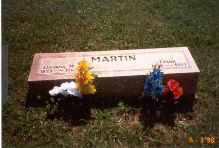 MARTIN, LUCINDA M. - Vinton County, Ohio | LUCINDA M. MARTIN - Ohio Gravestone Photos