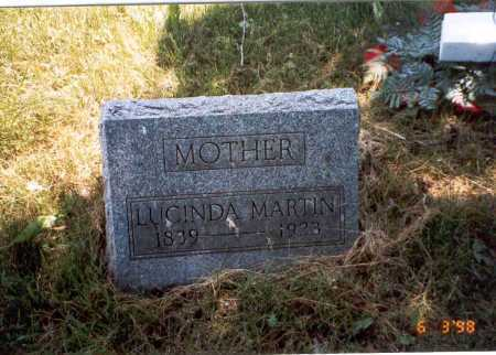 GRAHAM MARTIN, LUCINDA - Vinton County, Ohio   LUCINDA GRAHAM MARTIN - Ohio Gravestone Photos