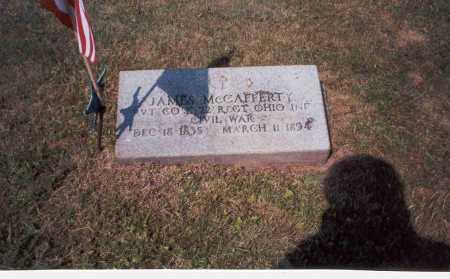 MCCAFFERTY, JAMES - Vinton County, Ohio | JAMES MCCAFFERTY - Ohio Gravestone Photos