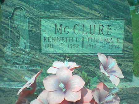 MCCLURE, KENNETH - Vinton County, Ohio | KENNETH MCCLURE - Ohio Gravestone Photos